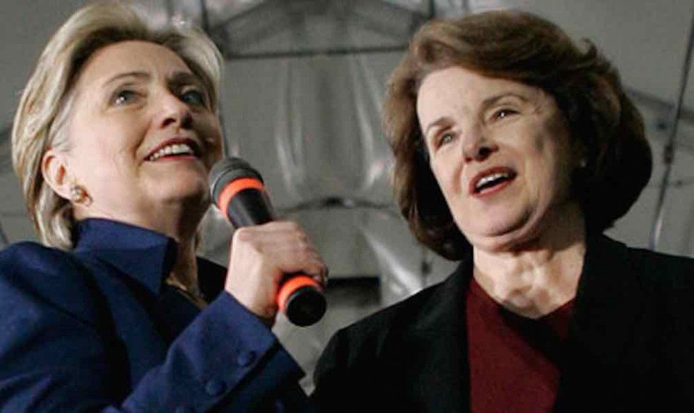 Espionage by China exploited Hillary Clinton and Dianne Feinstein security lapses to identify and murder of 20 CIA operatives