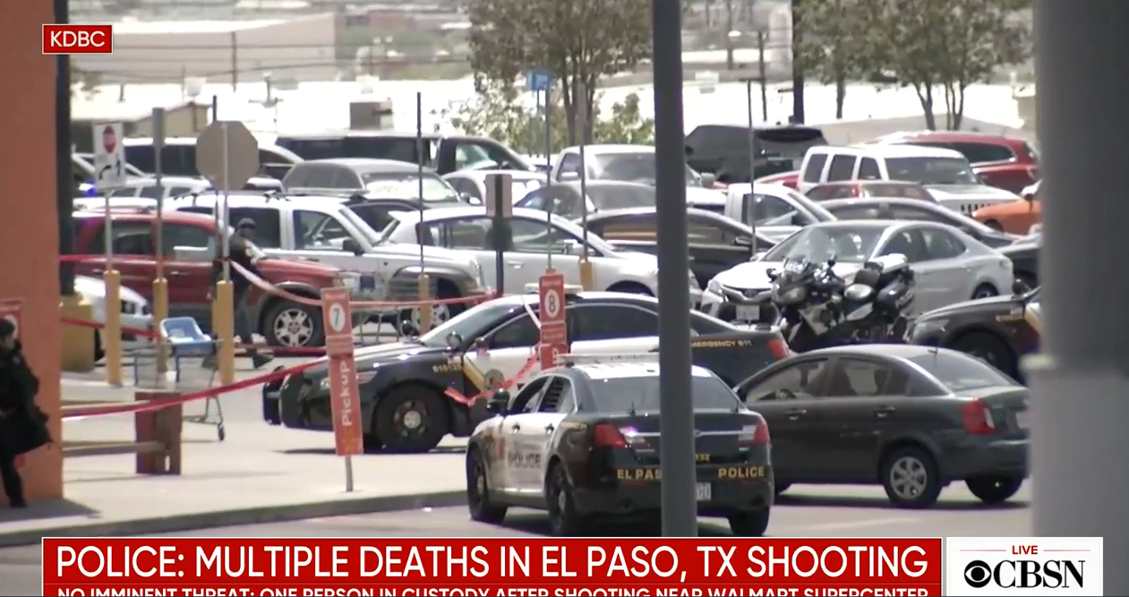 """NARRATIVE CONTROL: Multiple reports, witnesses claim that there were """"three or four"""" shooters at El Paso Walmart, but police only claim one"""