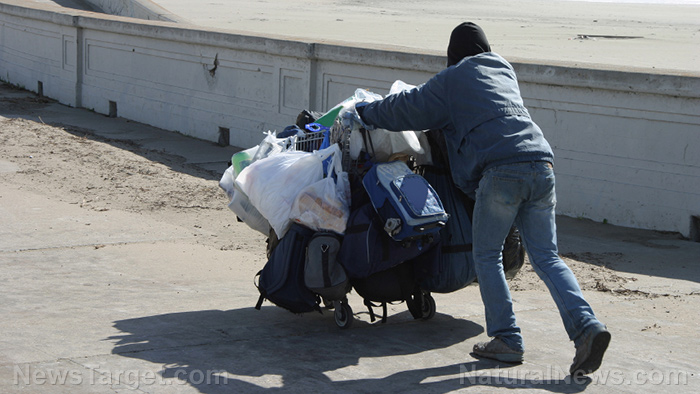 The capital of California is collapsing into chaos, feces, drug addiction and homelessness… and it's all run by Democrats, of course