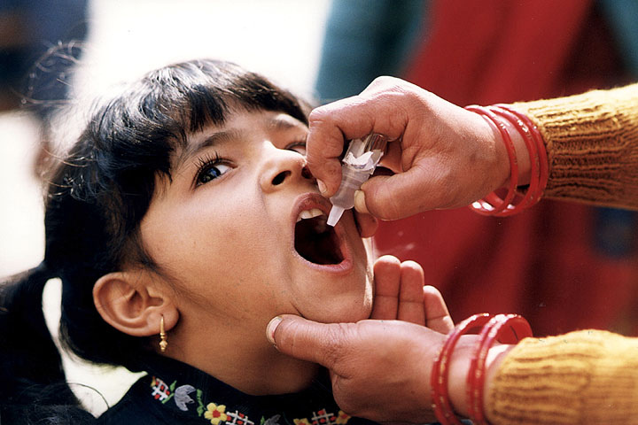 "If the polio vaccine was really a ""miracle breakthrough"" for public health, why is it still causing people to get polio?"