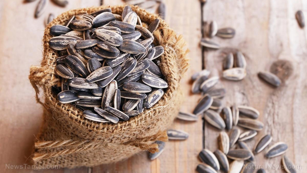 Sunflower seeds are a delicious, healthy source of vitamin E