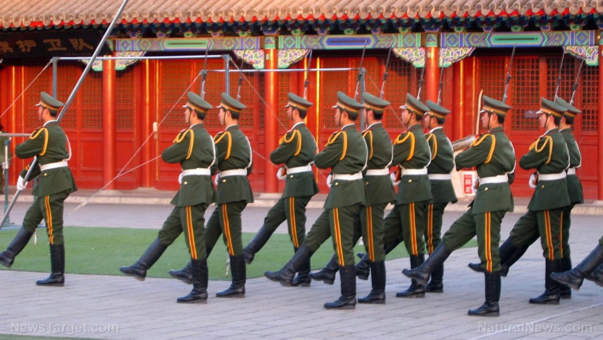 China doesn't have to invade America, it has already taken control over our politicians and cultural elite