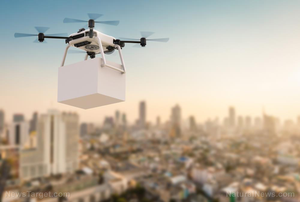 UPS partners with CVS Pharmacy to carpet bomb America with medications delivered via drones