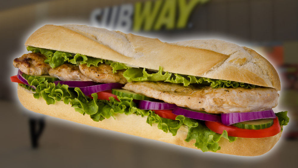 Subway tries to sue the journalists who concluded Subway's roasted chicken is only 53.6% real meat